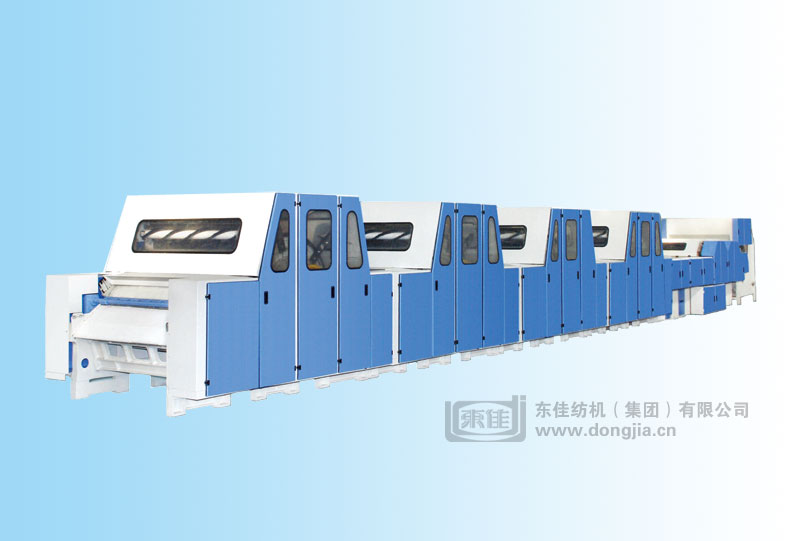 LFN288 Combined Cashmere Carding Machine